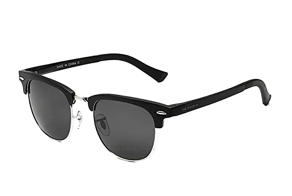a151dc35fc0 VEITHDIA Unisex Retro Aluminum Magnesium Brand Sunglasses Polarized Lens  Vintage Outdoor Eyewear Accessories Sun Glasses Oculos 6690  Amazon.co.uk   Clothing