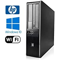 HP DC7800 SFF Desktop - Intel Core 2 Duo 3.0GHz - NEW 1TB HDD - 4GB RAM - Windows 10 Pro 64-bit - WiFi - Dvd-Rom (Prepared by ReCircuit)