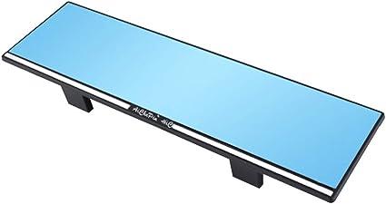 Lioobo Auto Rückspiegel Durable Universal Weitwinkel Panorama Anti Blendung Innenspiegel Sport Freizeit