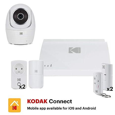 Kodak Vision - Alarma inteligente con cámara, blanco, Alarme ...