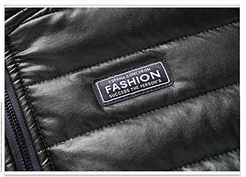 D'automne Jacket Les Épaisse Cuir En Trench Grande Veste Col Brown Et Transition Taille Moxishop Hommes Plein Mode D'hiver Air Locomotive Punk coat Manteau Classique Quilted gqdEWx