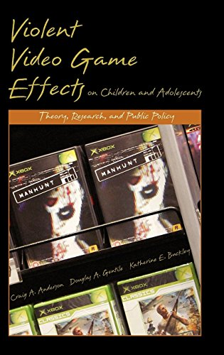 Violent Video Game Effects on Children and Adolescents: Theory, Research, and Public Policy