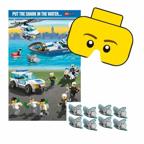 Amscan Party Game Lego (Halloween Party City)