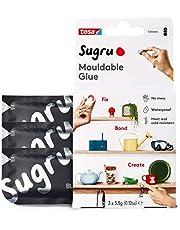 Sugru I000945 Moldable Multi-Purpose Glue for Creative Fixing and Making, Black, 3 Piece