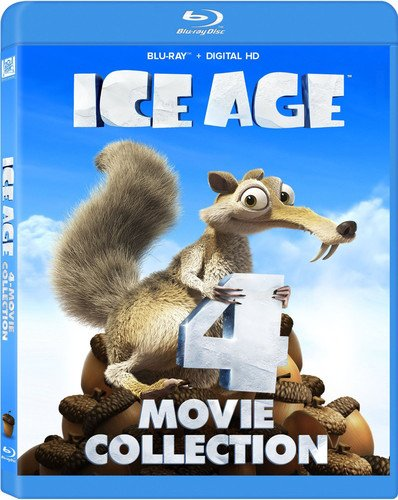 Ice Age 4 Movie Collection Blu-ray (4 Set Ice Age Movie)