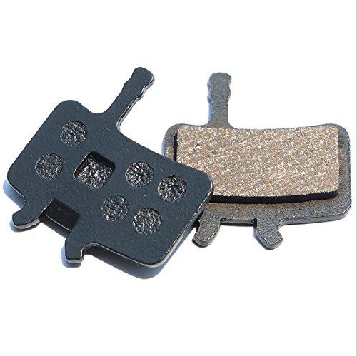 Resin Organic Semi-metal Brake Pads for AVID BB7 Juicy 3 5 7, Smooth Braking,Low Noise, Long Life, Kevlar, Copper, 2 Pairs by Juscycling (Image #3)