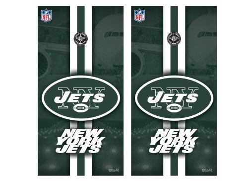 - NFL New York Jets Cornhole Shield