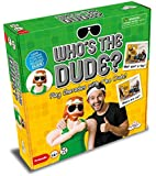 Who's The Dude Adult Charades - Use the Life Size Inflatable Dude to Act Out up to 440 Hilarious Scenarios - Ages 16+