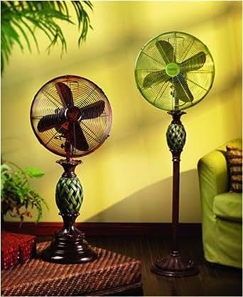Deco Breeze DBF0231 Table Fan Features Tropical Design
