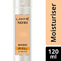 Lakme Peach Milk Moisturizer SPF 24 PA Sunscreen Lotion, 120ml