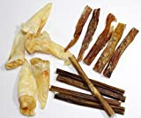 Variety Pack Dog Treats All Natural Bully Sticks,Lamb Ears & Beef Tendons~ Made in the USA
