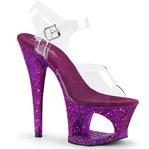 Glitter Clr 708LG MOON Multi Pleaser Purple qxRFXwnE7