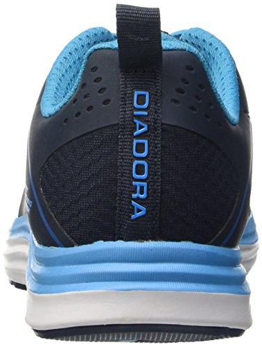 Diadora Nj-404-3, Entraînement de Course Homme bleu foncé - bleu - noir