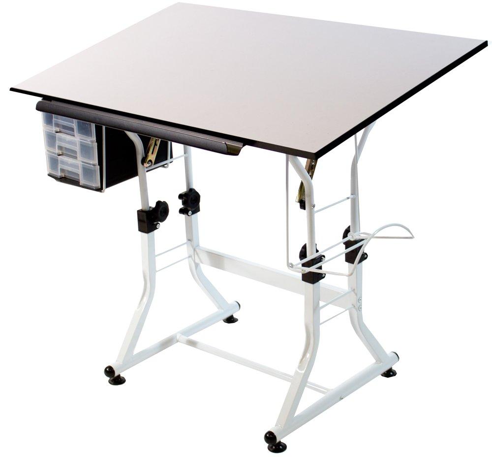 Martin Universal Design Ashley Hobby Creative Table, White by Martin Universal Design