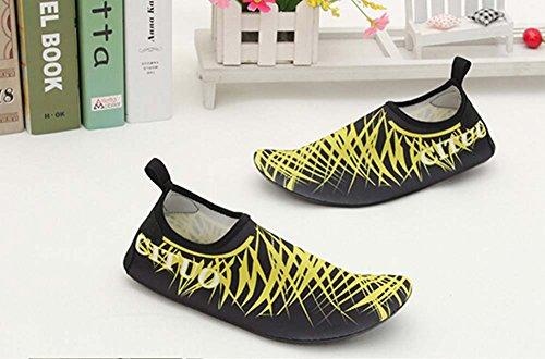 Chaussures de Chaussures de Chaussures Sport Yoga Eau Doux Jaune Treadmill noir Chaussures de Randonnée q4zEazw8x