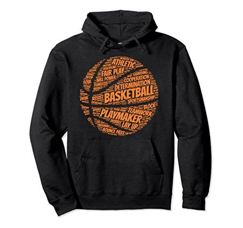 Hooded Basketball (Unisex Basketball hoodie gift for boys, girls, men and women Medium Black)