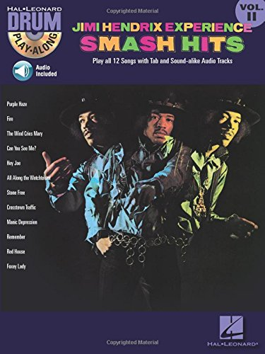 Jimi Hendrix Experience - Smash Hits: Drum Play-Along Volume 11 (Play Along Songbook Drum)