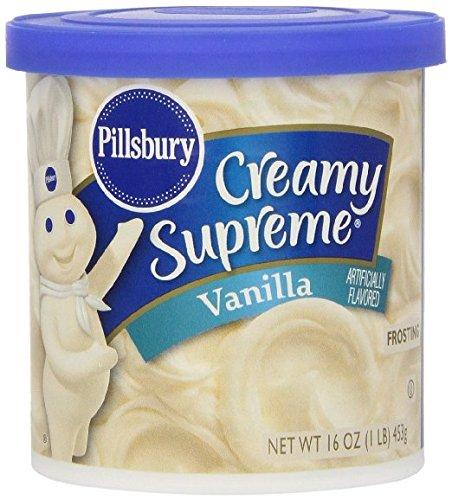 Pillsbury Creamy Supreme Vanilla Frosting 16oz - 2 pack