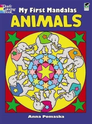 My First Mandalas--Animals (Dover Coloring (Crayon Counting Book)
