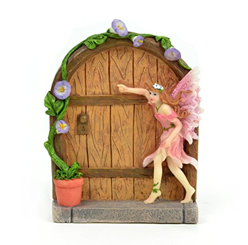 Pink Fairy Door 5 x 3.75 Inches x 1 Piece