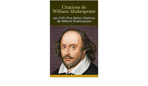 Amazon Com Citations De William Shakespeare Les 210 Plus