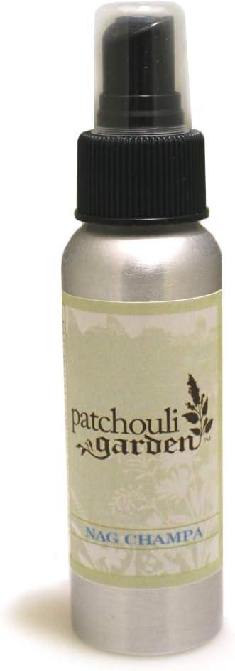 Patchouli Garden - Nag Champa Perfume Body Spray 2.5 Ounces