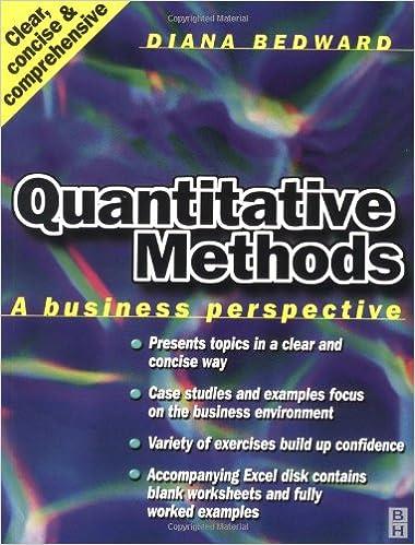 Download Quantitative Methods: A Business Perspective PDF, azw (Kindle)