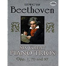 Six Great Piano Trios in Full Score