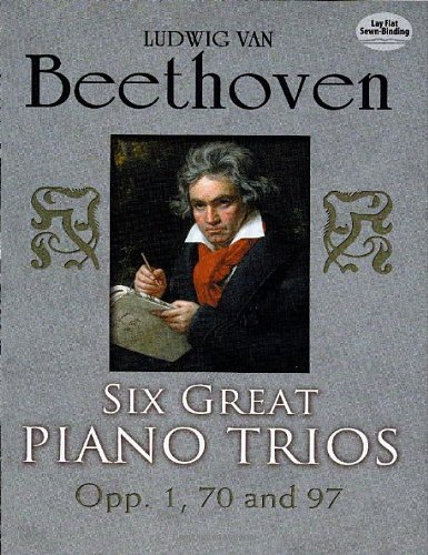 Six Great Piano Trios in Full Score (Dover Chamber Music (Chamber Trio)