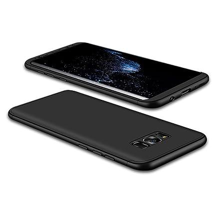 Funda Galaxy S8 plus,Carcasa Samsung S8 plus,JMGoodstore Funda 360 Grados Integral Para Ambas Caras + Cristal Templado para Samsung Galaxy S8 plus,[ ...