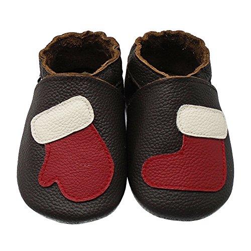 ea95f47c88c15 en soldes Mejale Chaussons Bébé en Cuir Doux - Chaussures Bébé Cuir Souple  Chaussures Premiers Pas