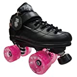 Sure Grip Rock Gt50 Pulse Pink Roller Derby Speed Skates - 78a Outdoor Wheels Size Mens 10 / Ladies 11