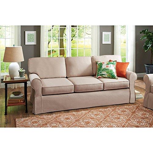 Slip Cover Pala Sofa, in Beige Color