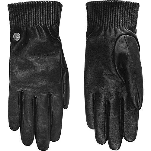 [カナダグース] レディース 手袋 Canada Goose Women's Leather Rib Glove [並行輸入品]
