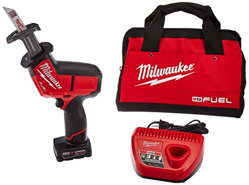 Home Depot Reciprocating Saw - Milwaukee Electric Tool 2520-21XC M12 Hackzall Saw Kit