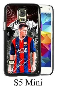 Soccer Player Lionel Messi 39 Black Samsung Galaxy S5 Mini Screen Phone Case Genuine and Unique Design