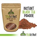 TEAki Hut Instant Black Tea Powder 2 Ounce (100 Servings) | 100 Percent Pure Ground Tea No Fillers, Additives or Artificial Ingredients of Any Kind