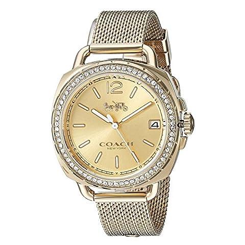 COACH Women's Tatum - 14502756 Gold Watch (Coach Women Gold Watch)