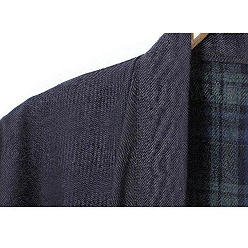3cd60243dd 70%OFF FANCY PUMPKIN Men s Japanese Style Robes Pure Cotton Kimono Robe  Bathrobe Pajamas