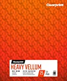 Clearprint Heavy Vellum Pad, 48 LB, 180 GSM, 14 x 17 Inches, 25 Sheets Per Pad, 1 Each (26321512011)