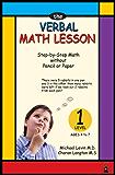 The Verbal Math Lesson Level 1