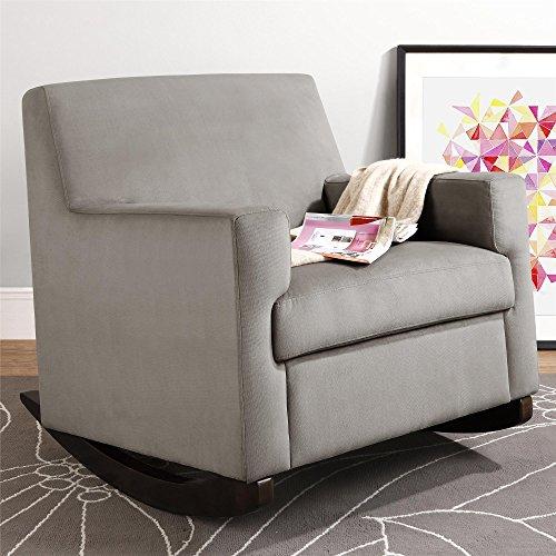 Baby Relax The Naomi Nursery Rocker Chair, Light Brown