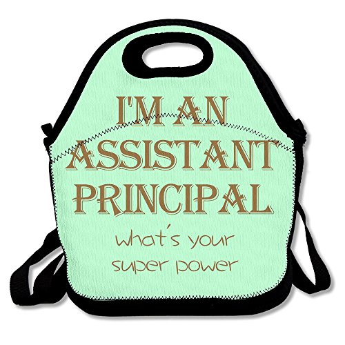 Sweatshirt Hooded Assistant (I'm An Assistant Principal Easy To Carry Travel Essential Maintenance Lunch Bags)