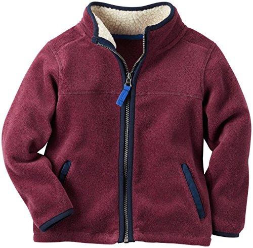 Carter's Boys' Knit Layering 263g701, Burgundy, 5