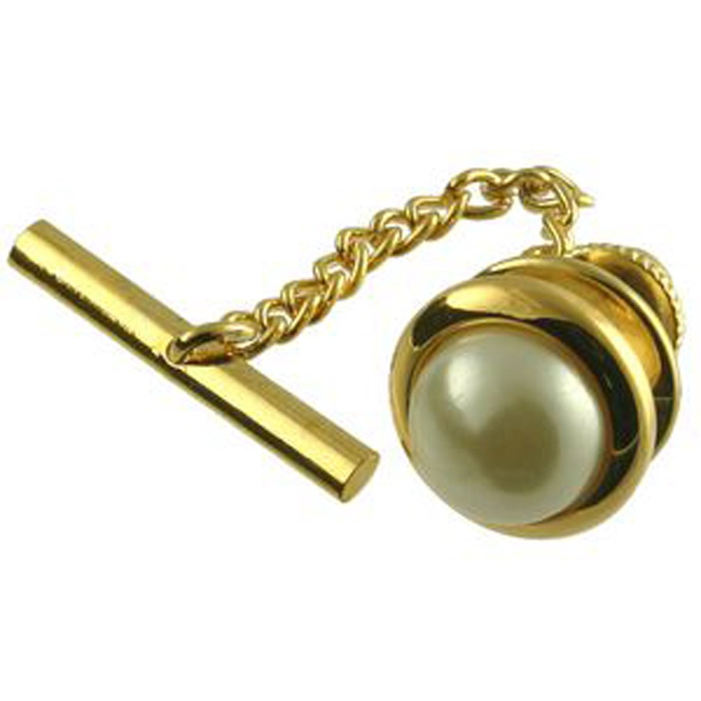 Pearl Synthetic Tie Tac Select Gift Pouch