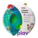 Petstages Cheese Chase Cat Track Toy