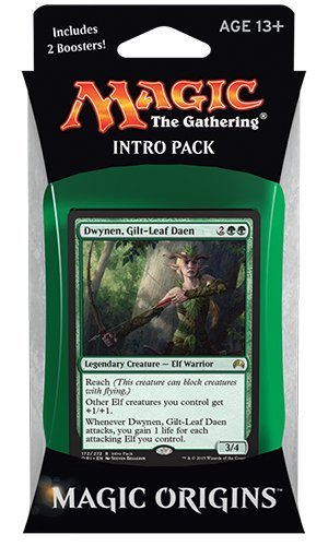 Magic the Gathering: MTG Magic Origins:  - Leaf Green Booster Shopping Results