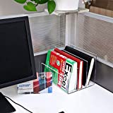 Acrylic Desktop File Sorter Holder,Clear Office