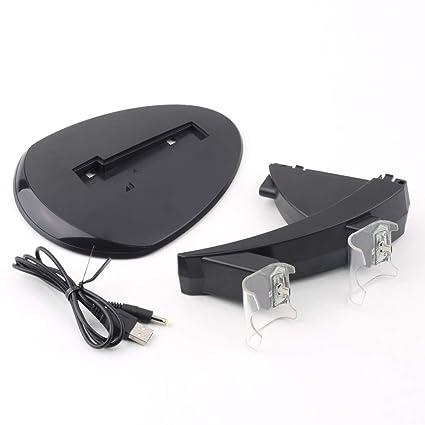 1 Unid LED Cargador de Carga Dual USB Base de Base para Base ...
