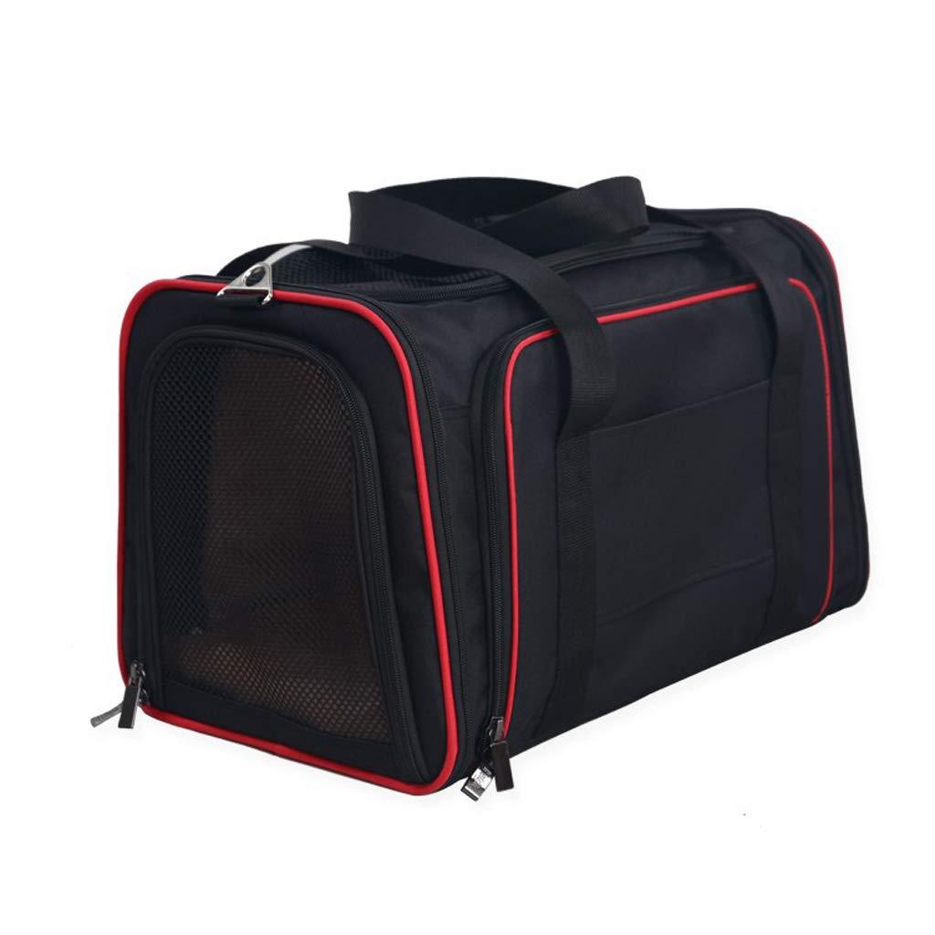Jlxl Pet Backpack Carrier Car Bag Convenient Breathable Not Stuffy Portable Shoulder Double Exhibition